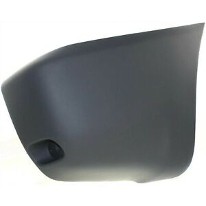 Bumper End Cap For 2001 2005 Toyota Rav4 Rear Right Primed With Reflector Holes