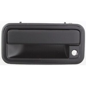 Door Handle Outside Exterior Black Front Driver Left Lh For Chevy Gmc