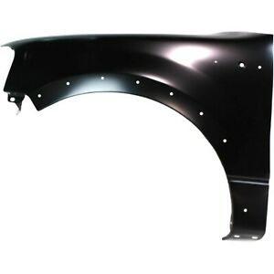 Fender For 2004 2008 Ford F 150 Front Left Side Primed Steel With Molding Holes