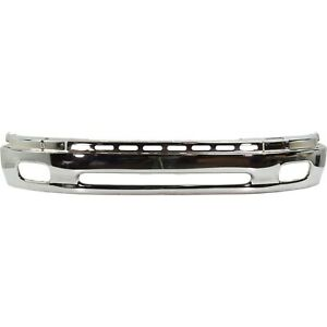 Front Lower Bumper For 2000 2006 Toyota Tundra Chrome Steel