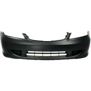 Front Bumper Cover For 2004 2005 Honda Civic Sedan Coupe Primed 04711s5aa91zz