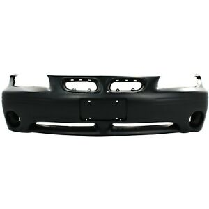 Front Bumper Cover For 97 2003 Pontiac Grand Prix W Fog Lamp Holes Primed