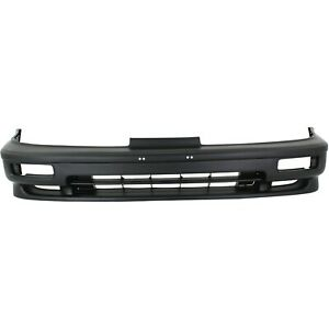 Front Bumper Cover For 90 91 Acura Integra W Fog Lamp Holes Primed