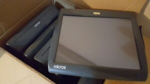 400814 001 Micros Ws5 Workstation 5 Pos Touchscreen System 12 Units Available