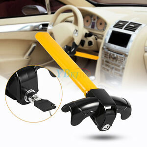 Universal Steering Wheel Lock Anti Theft Security Auto Tool For Car Truck Suv