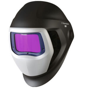 New 3m Speedglas 9100x Black Auto Darkening Filter Welding helmet Bland 9100 X