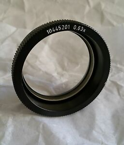 Leica Wild 0 63x Objective Lens Mz Ms Mz6 Ms5 M3z Microscope Wd 149mm Tested