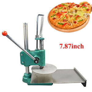 Stainless Steel Roller Dough Sheeter Pasta Maker Household Pizza Pastry Press