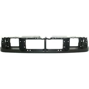 Header Panel For 93 97 Ford Ranger Grille Mount Abs Plastic