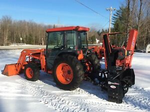 Kubota L5030 4x4 Loader Cab New Snowblower