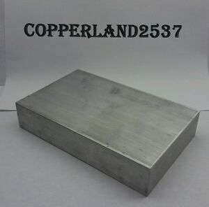 2x7x10 New 6061 T6511 Solid Aluminum Stock Plate Flat Bar Cnc Mill Milling Block