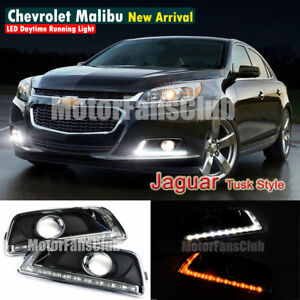 Drl For Chevy Malibu 2013 2014 Led Daytime Running Light W Signal Fog Lamp Top
