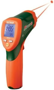 30 In Dual Laser Ir Thermometer Lcd Data Hold Temperature Specialty Test Meter