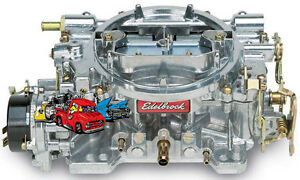 Remanufactured Edelbrock 1406 600 Cfm Electric Choke Carburetor 90 Day Warranty