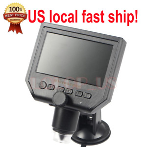 Portable Lcd Digital Microscope 4 6 Hd Oled 3 6mp 1 600x Magnification G600