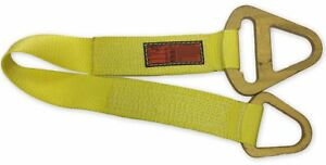 Stren Flex Tcs1 904 10 Type 1 Nylon Triangle Choker Web Sling With Steel End Fit