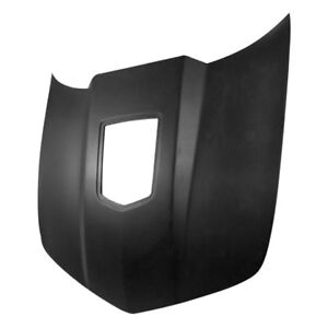 For Chevy Camaro 10 15 Showoff Style Fiberglass Hood W Clear Center Unpainted