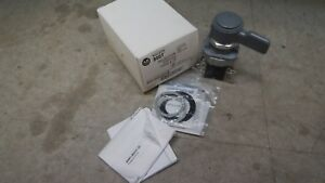 Ab Selector Switch 800t ng11kf4b Ser T 30mm Type 4 13 800t Grey 4 Position New