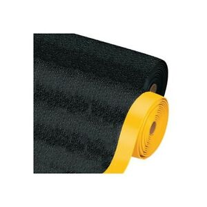thornton s Premium Anti fatigue Mat 2 X 10 Black yellow 1