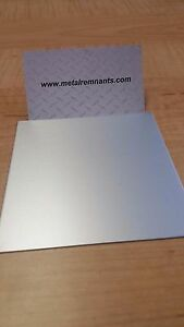 063 Clear Anodized Aluminum Plate Sheet Plate 12 X 24