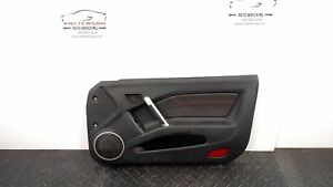 2005 Hyundai Tiburon Passenger Right Front Power Door Trim Panel Rich Black Lk