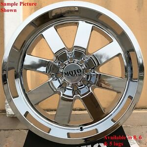 4 New 20 Wheels For Dodge Ram 1500 2001 2002 2003 2005 2005 2006 Rims 1862