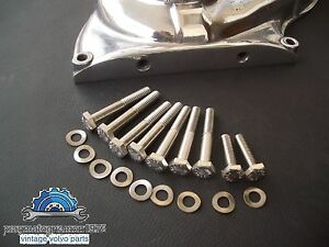 Volvo Amazon 121 122 P1800 Timing Cover Bolt Kit Stainless Steel