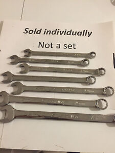U Pick Snap On Tools Usa Metric 12 Point Combination Soexm Flank Plus Box