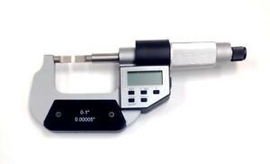 0 1 0 25mm Electronic Blade Micrometer 4200 0351