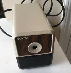 Boston Hunt Mfg Model 18 Electric Pencil Sharpener Made In Usa Works