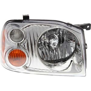 Headlight For 2001 2002 2003 2004 Nissan Frontier Xe Models Right With Bulb