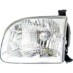 Headlight Driver Side Lh For Toyota 2001 2004 Sequoia 2000 04 Tundra Double Cab