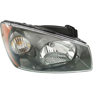 Headlight For 2004 2006 Kia Spectra Passenger Side W Bulb