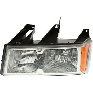 Headlight For 2005 2008 Chevrolet Colorado Gmc Canyon Driver Side W Bulb