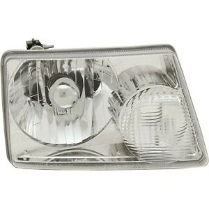 Headlight For 2001 2011 Ford Ranger Right With Turn Signal Bulb And Socket