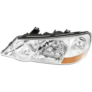 Headlight For 2002 2003 Acura Tl Type s Model Left Clear Lens Hid