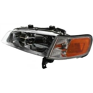 Headlight For 94 95 96 97 Honda Accord Left With Bulb And Corner Light