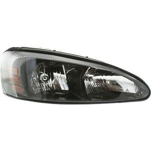 Headlight For 2004 2008 Pontiac Grand Prix Right Clear Lens With Bulb