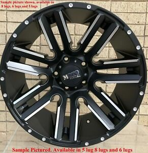 4 New 20 Wheels For Dodge Ram 1500 2007 2008 2009 2010 2011 2012 Rims 1880