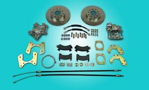 Ford 8 Or 9 Small Bearing Rear Disc Brake Conversion With Parking Brakes