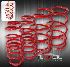 2008 2013 Scion Xb 1 1 2 2 Jdm Suspension Lowering Spring Lower Kit Red