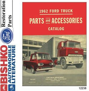 1962 Ford Truck Parts Numbers Book List Cd Interchange Images