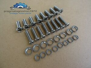 Volvo Amazon 121 122 Reclining Seats Screw Kit Stainless Steel