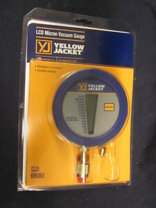 Yellow Jacket Digital Lcd Economy Vacuum Gauge 69080
