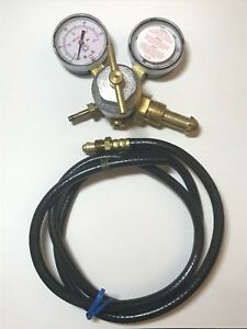 Smith Meter Inc Argon Gas Gauge Pressure Control Gas Flow Valve