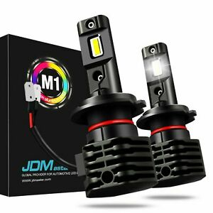 Jdm Astar 2x 8000lm Diy H7 4s Zes Bright White Yellow Blue Led Fog Drl Headlight