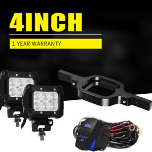 Chevy Silverado 1500 2500 3500 Truck Suv Backup Reverse Tow Hitch 16w Led Lights