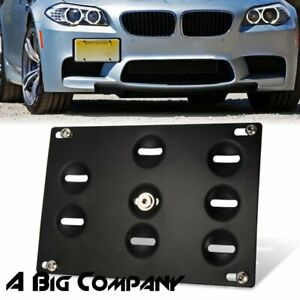 For Bmw F30 F32 F10 3 4 5 Series Z4 Bumper Tow Hook License Plate Mount Bracket