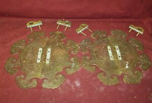 Old Or Antique Chinese Brass Or Bronze Door Cabinet Hardware