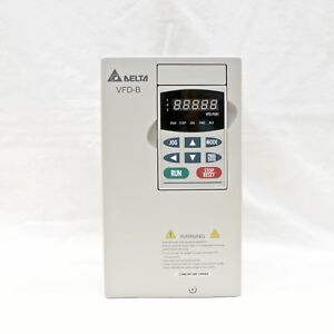 Delta Vfd022b21a 3 Ac Drive 2 2kw 3hp 230v Single phase Or 3 phase Input